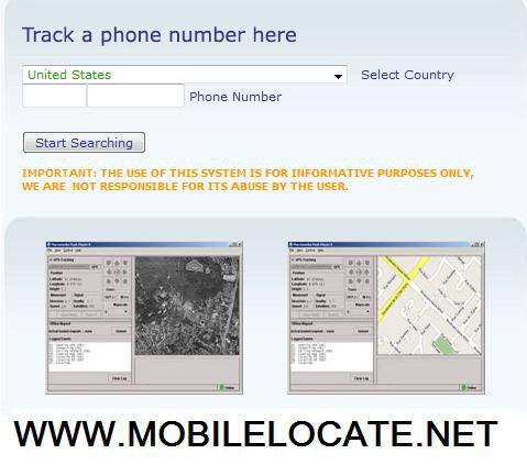 Track phone number location without them knowing